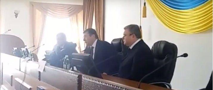 Новим прокурорм області став Валерій Романов / ФОТО twitter.com/SarganLarysa