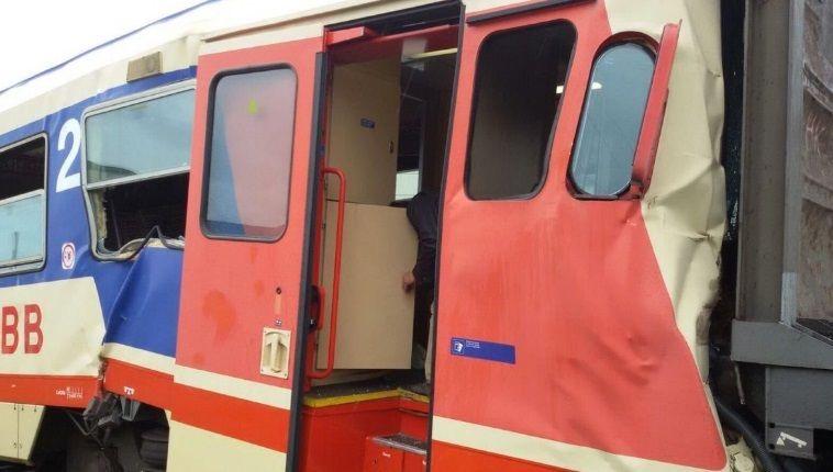 ВАвстрії електричка зіткнулась зтоварними вагонами, 16 поранених