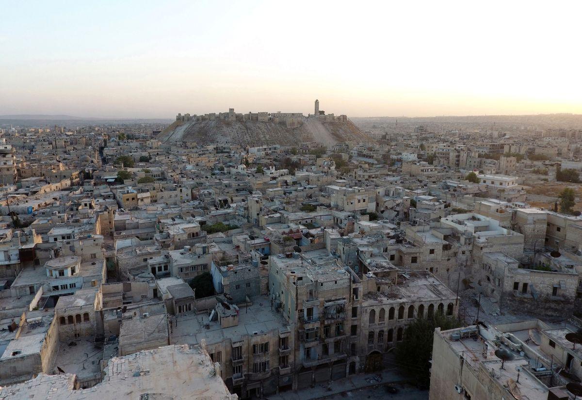 Разрушенный войной сирийский Алеппо / REUTERS