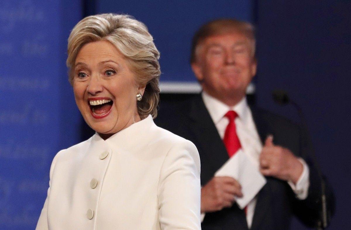 Хиллари Клинтон и Дональд Трамп / REUTERS