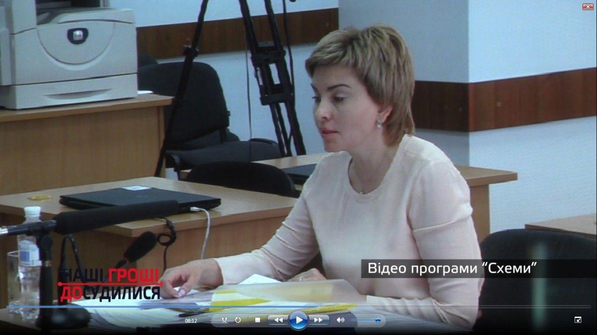 Суддя Київського адміністративного апеляційного суду Світлана Шелест / bihus.info