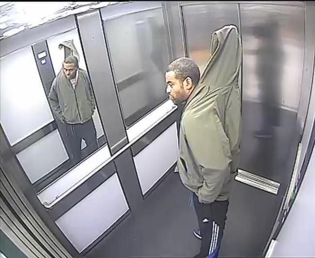 Карниз был пропущен через штанину и куртку / Northants Police