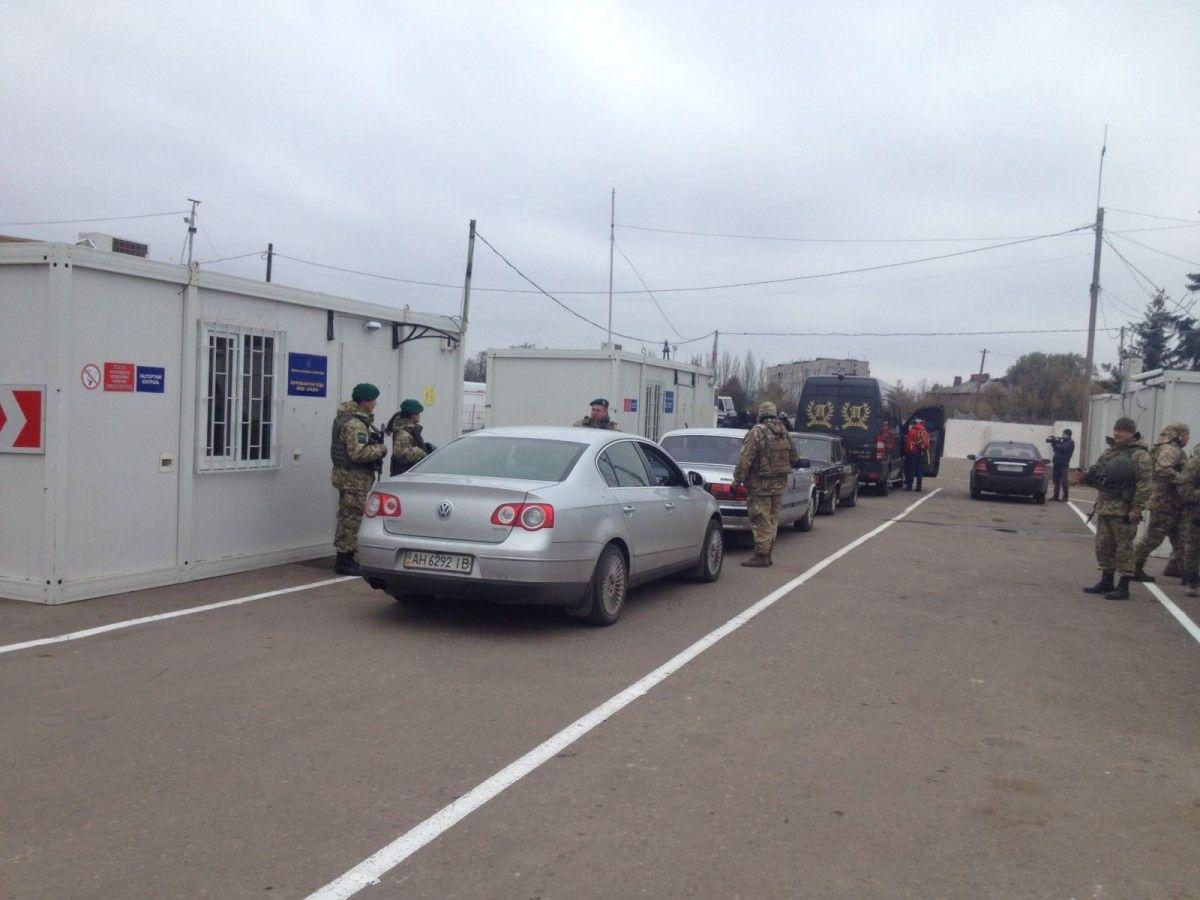 Новий КПВВ виведе із сірої зони кілька міст / Фото dpsu.gov.ua