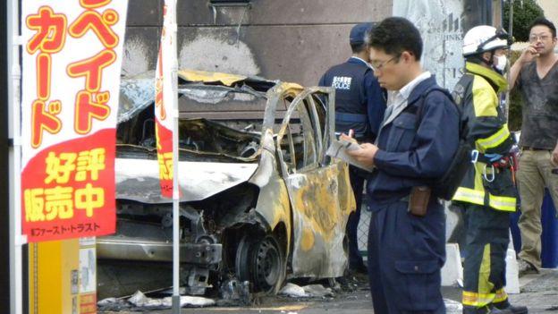 Один человек умер в итоге взрыва вяпонском городе Уцуномия