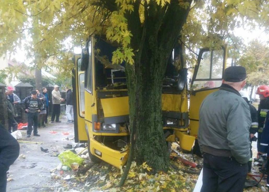 По словам очевидцев, водитель избежал наезда на пешехода, который пербігав дорогу / Фото facebook.com/igor.zinkevych
