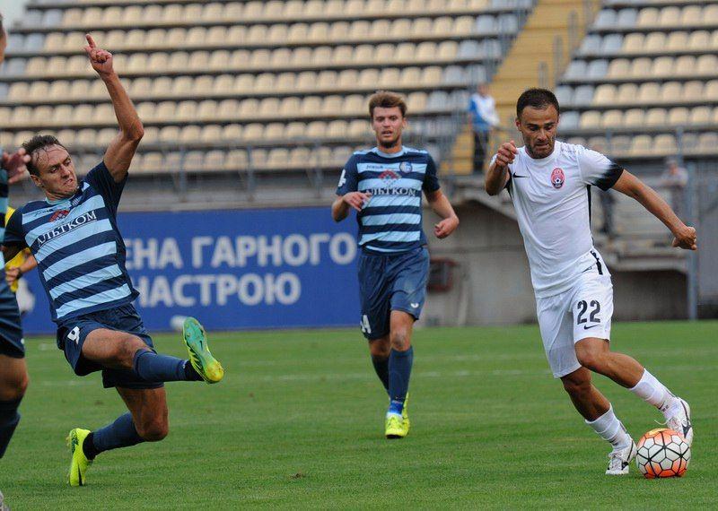 Два пенальти Форстера принесли победу «Заре» вматче с«Олимпиком»