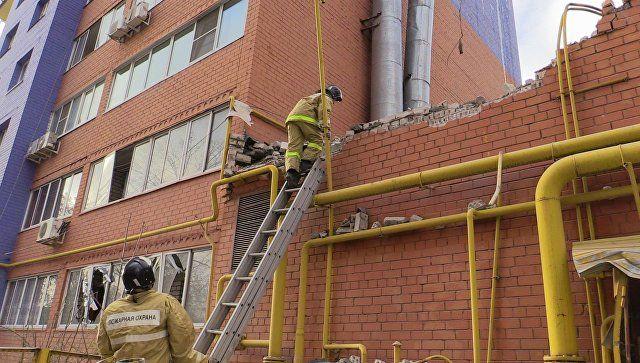 Вибух у десятиповерхівці стався через витік газу / Фото МНС РФ