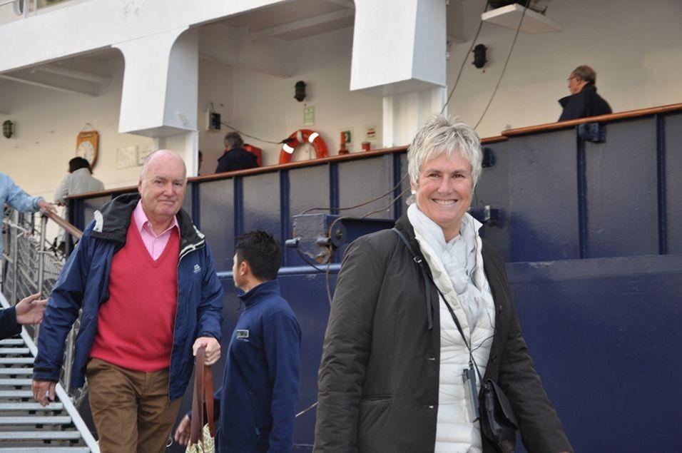 Круизный сезон-2016 вОдесском порту (Украина) закрыл лайнер Island Sky