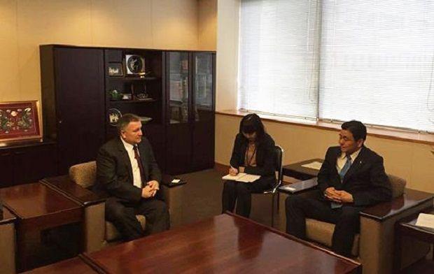Аваков встретился с вице-министром иностранных дел Японии / ФОТО mvs.gov.ua