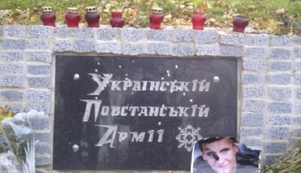 Поврежденный памятный знак в Харькове / Соцсети