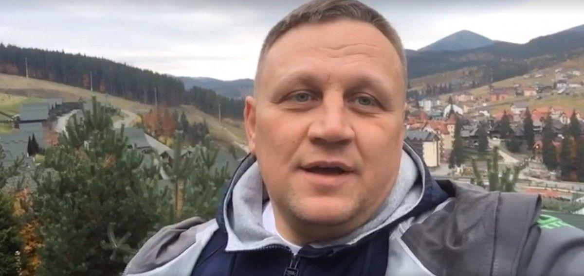 Шевченко прокоментував фейк про себе / Скріншот