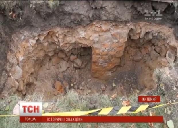 В Житомире нашли подземелье / Скриншот