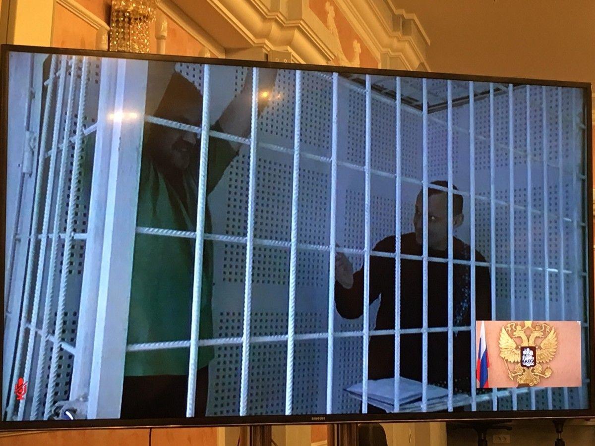 Карпюк и Клих присутствуют на суде по видеосвязи / УНИАН