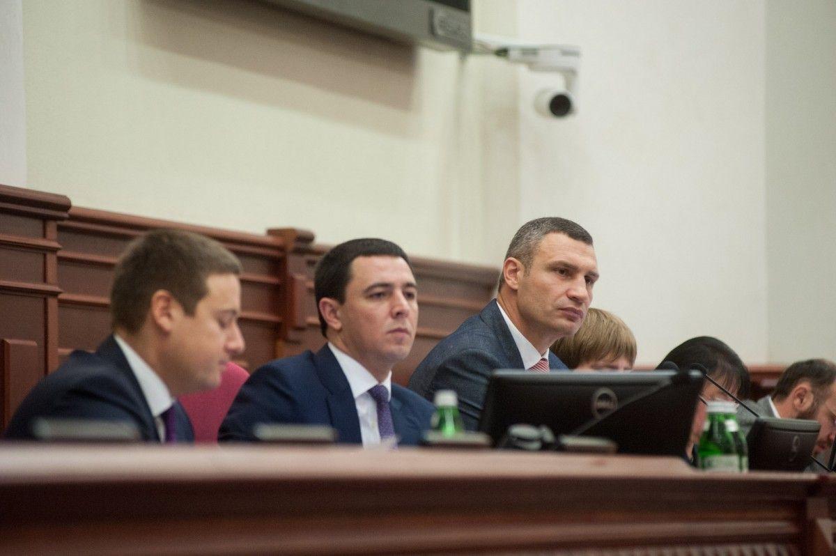 Киевсовет отменил все решения, принятые 27октября, из-за голосования стороннего лица
