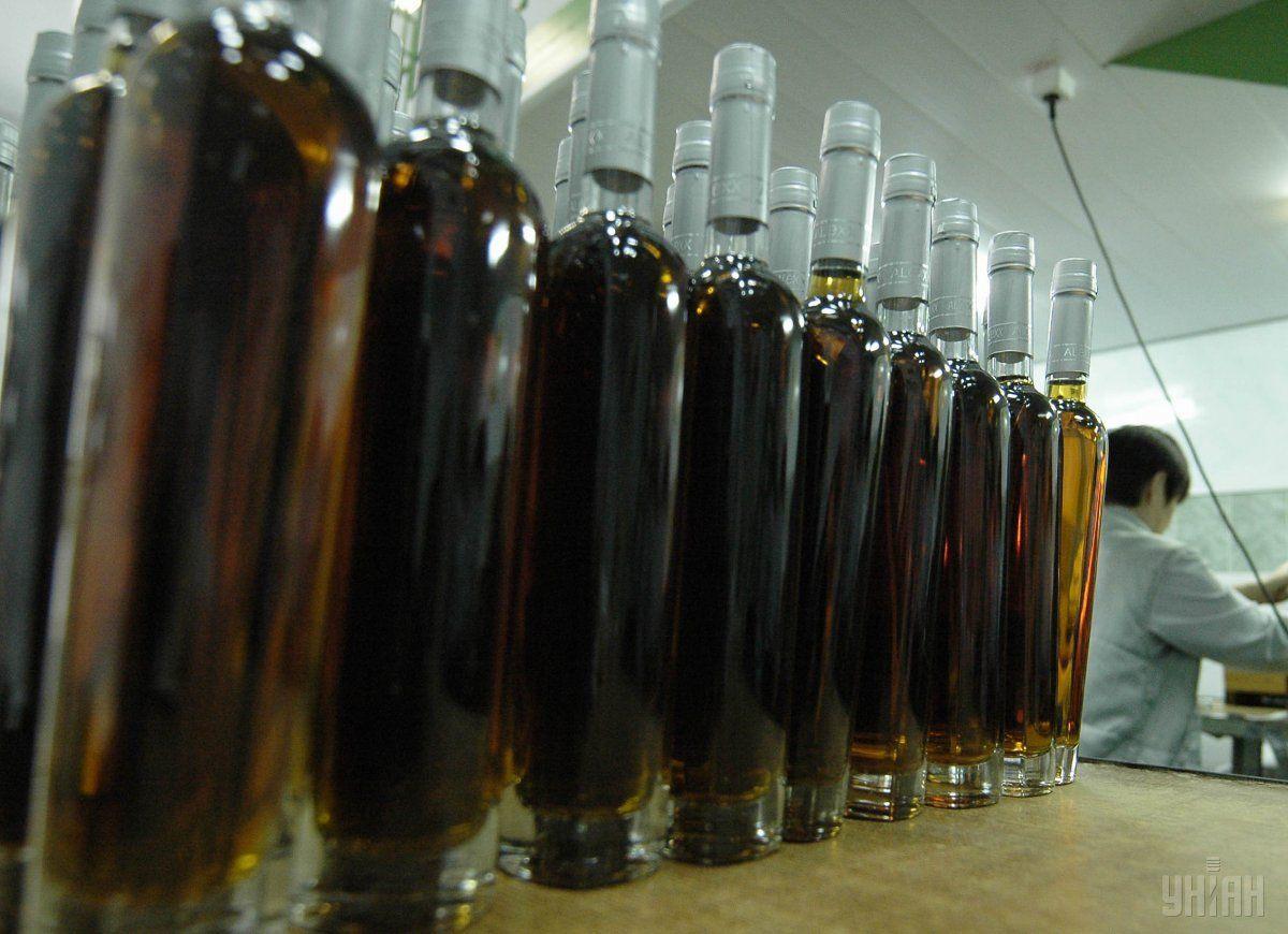 Вукраинском коньяке должно быть как минимум 15% отечественного спирта