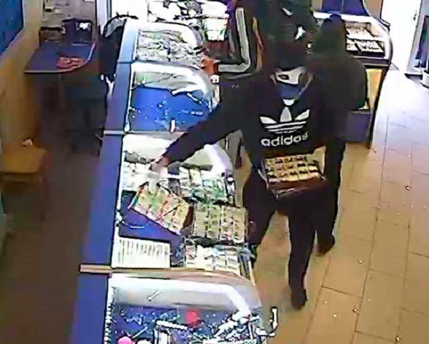 Ювелірних виробів грабіжники вкрали більше, ніж на 1 млн. грн. / mvs.gov.ua