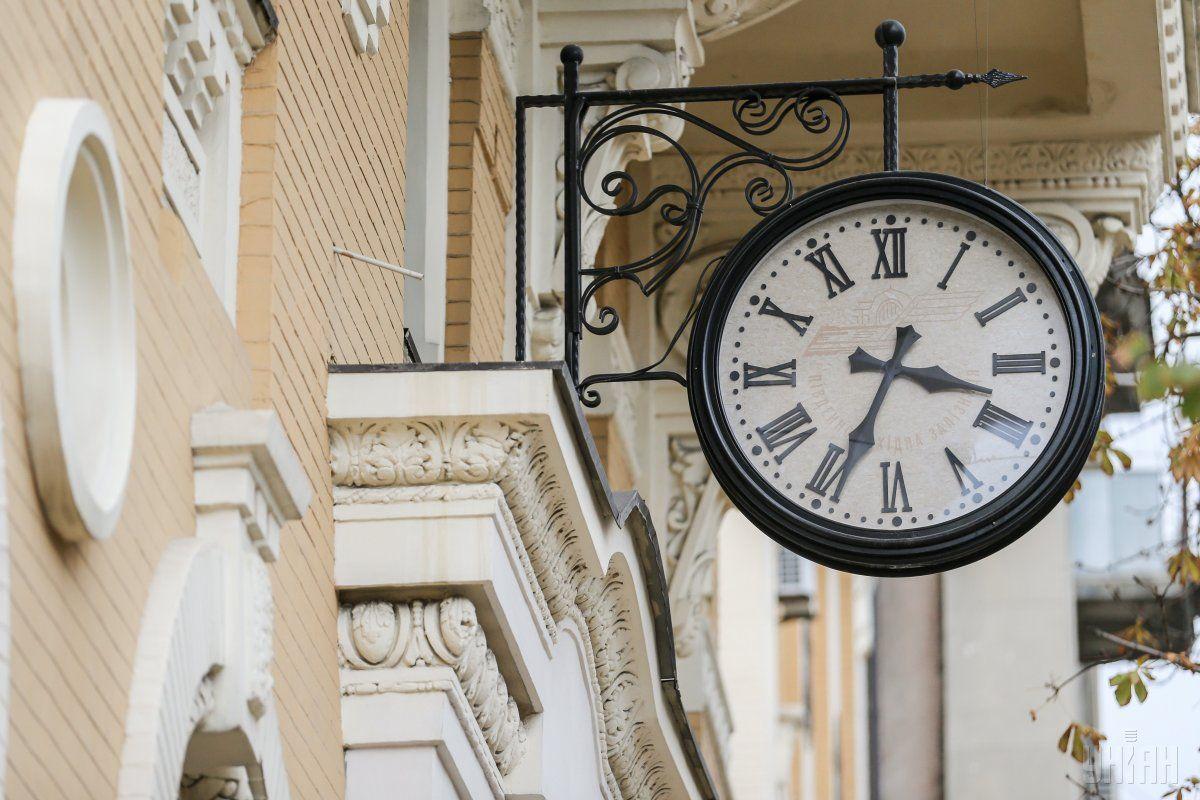 Україна готується до переведення годинників / Фото УНІАН