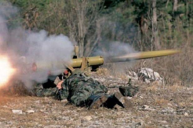Окрестности Мариуполя атаковали из противотанковых ракет / uapress.info
