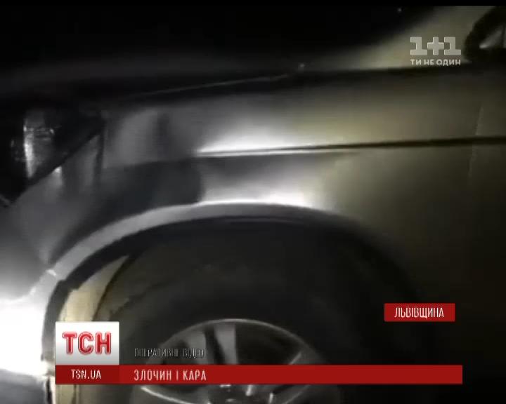 На Львівщині загинув водій, який намагався допомогти збитому пішоходу /  Скріншот
