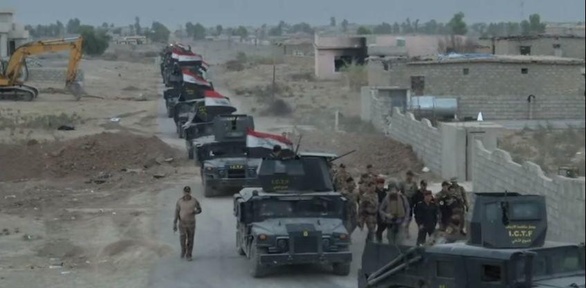 Штурм Мосула. Скриншот видео / AP
