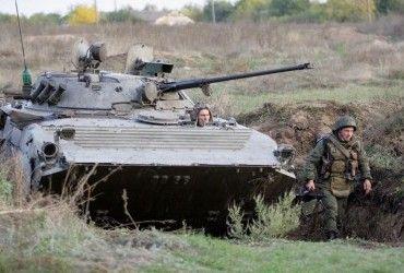 Безпілотник ОБСЄ виявив майже півсотні танків бойовиків на Донбасі
