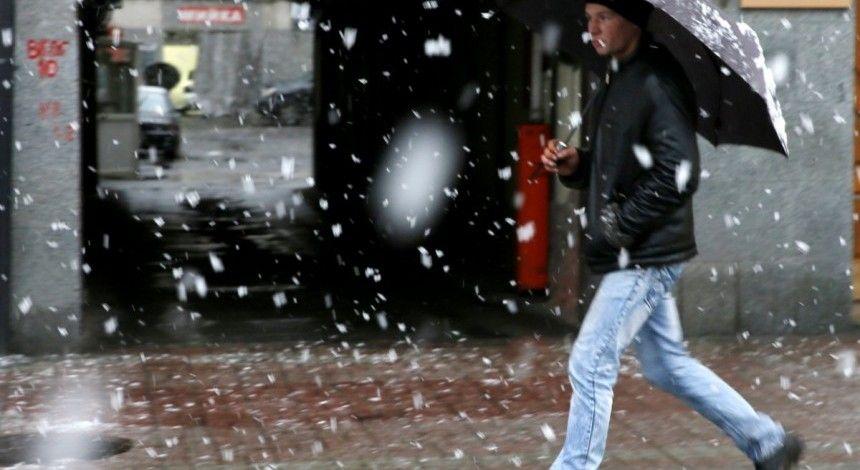 У Києві сьогодні пройде сніг з дощем, температура вдень до +1°