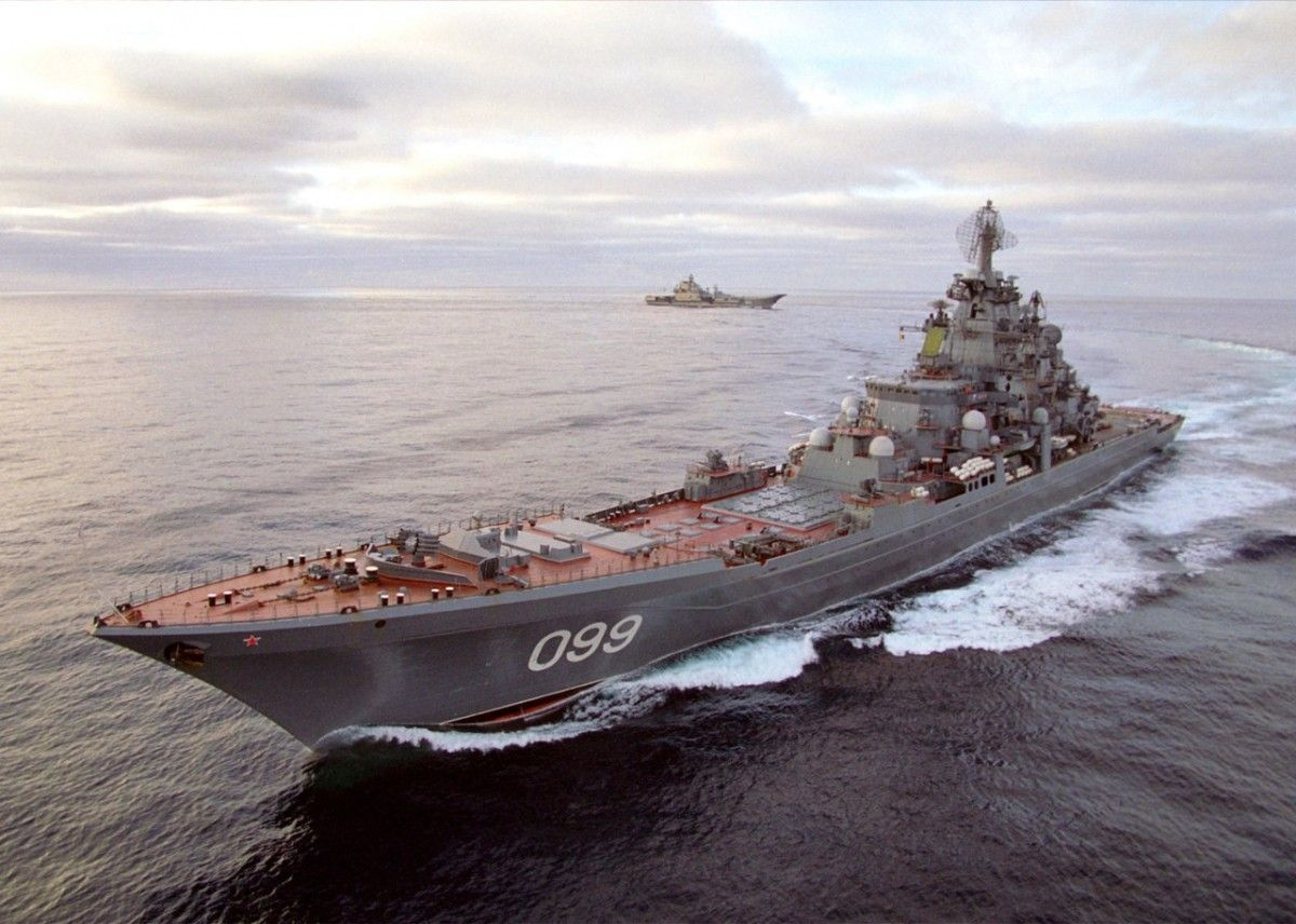 Атомний крейсер