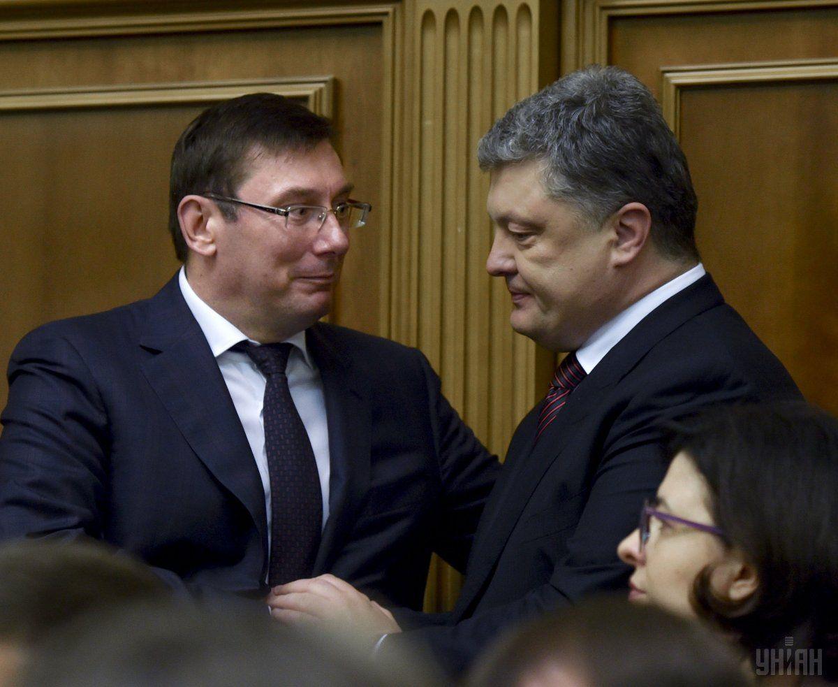 Луценко: Особых вопросов кдекларации Порошенко нет, еепроверят