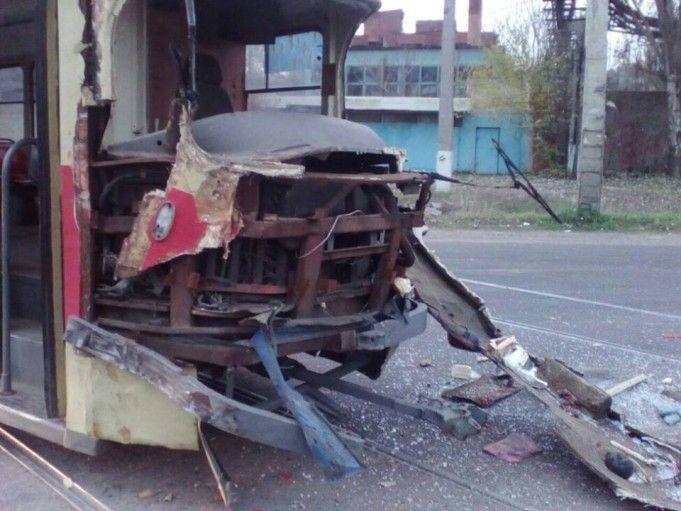 Грузовик не уступила дорогу трамваю / od.npu.gov.ua