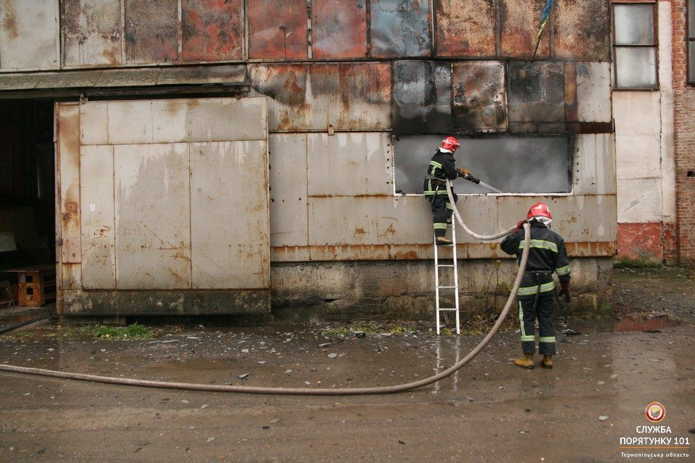 Причини пожежі та завдані збитки встановлюються / фото ДСНС в Тернопільській області