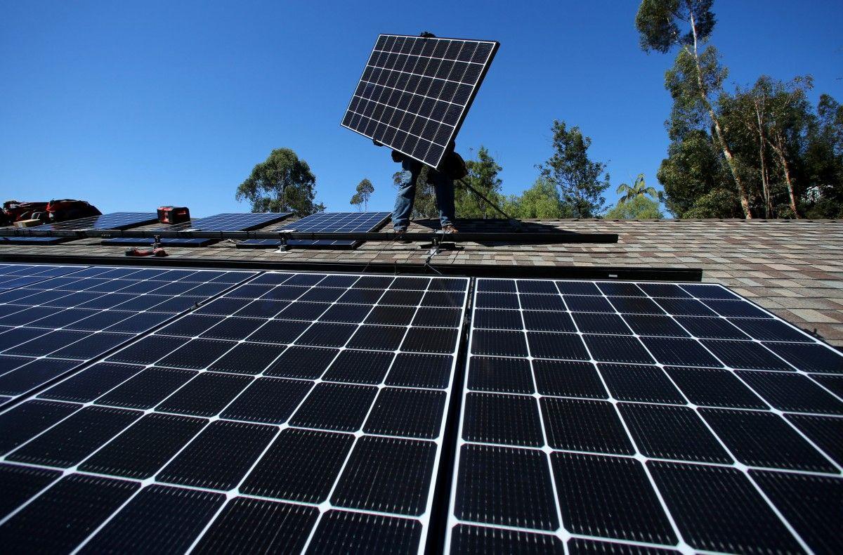 Всамом начале года количество солнечных установок вукраинских домохозяйствах удвоилось