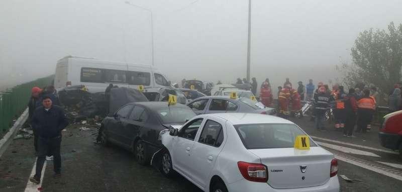 Загалом в ДТП потрапило 29 авто / фото digi24