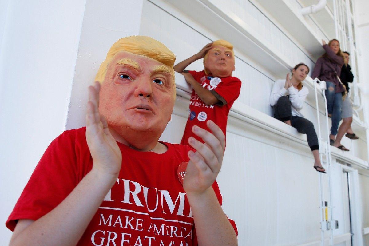 Прихильники Дональда Трампа / REUTERS