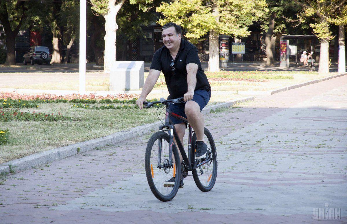 Саакашвілі не зволікає зі звільненням / Фото УНІАН