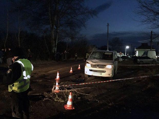 ВХарьковской области неизвестные сбили пешехода ибросили в отсек для груза умирать