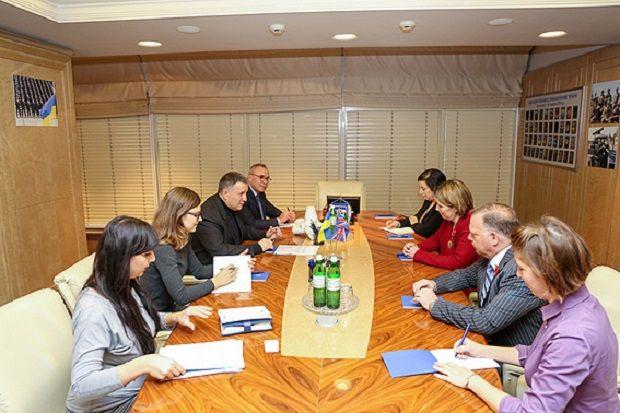 Британия заинтересована процессами реформирования МВД / mvs.gov.ua