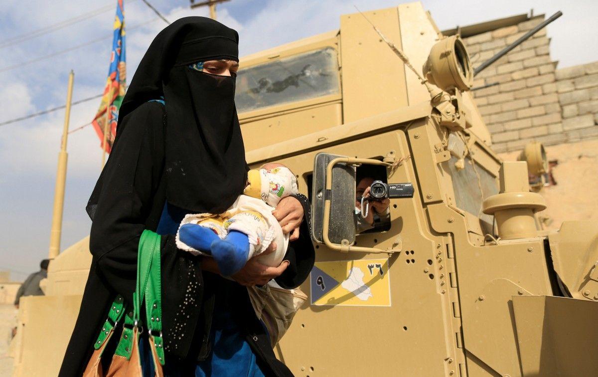 Беженцы в Ираке / REUTERS