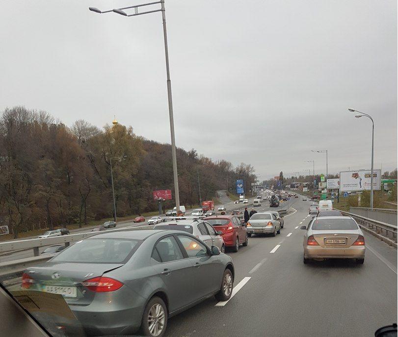 ДТП произошло около 7:40 утра / vk.com/kyiv_today