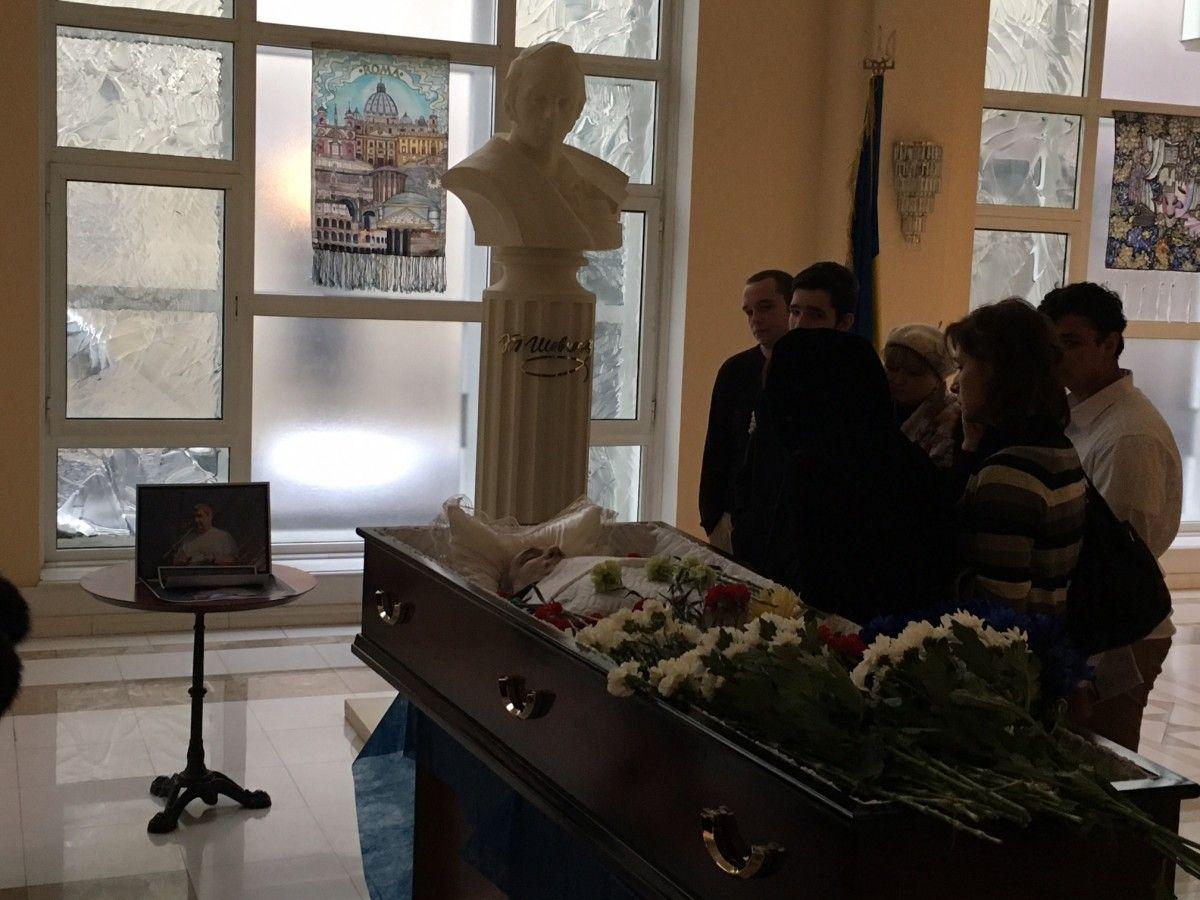 Шрейдлера поховають сьогодні на Булатніковському кладовищі / УНІАН