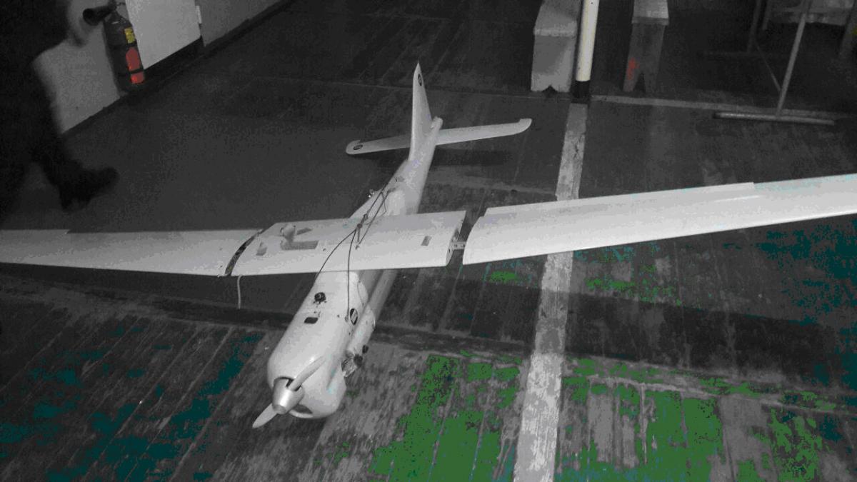 Навыловленном вАзовском море беспилотникt отыскали данные озапуске из Российской Федерации