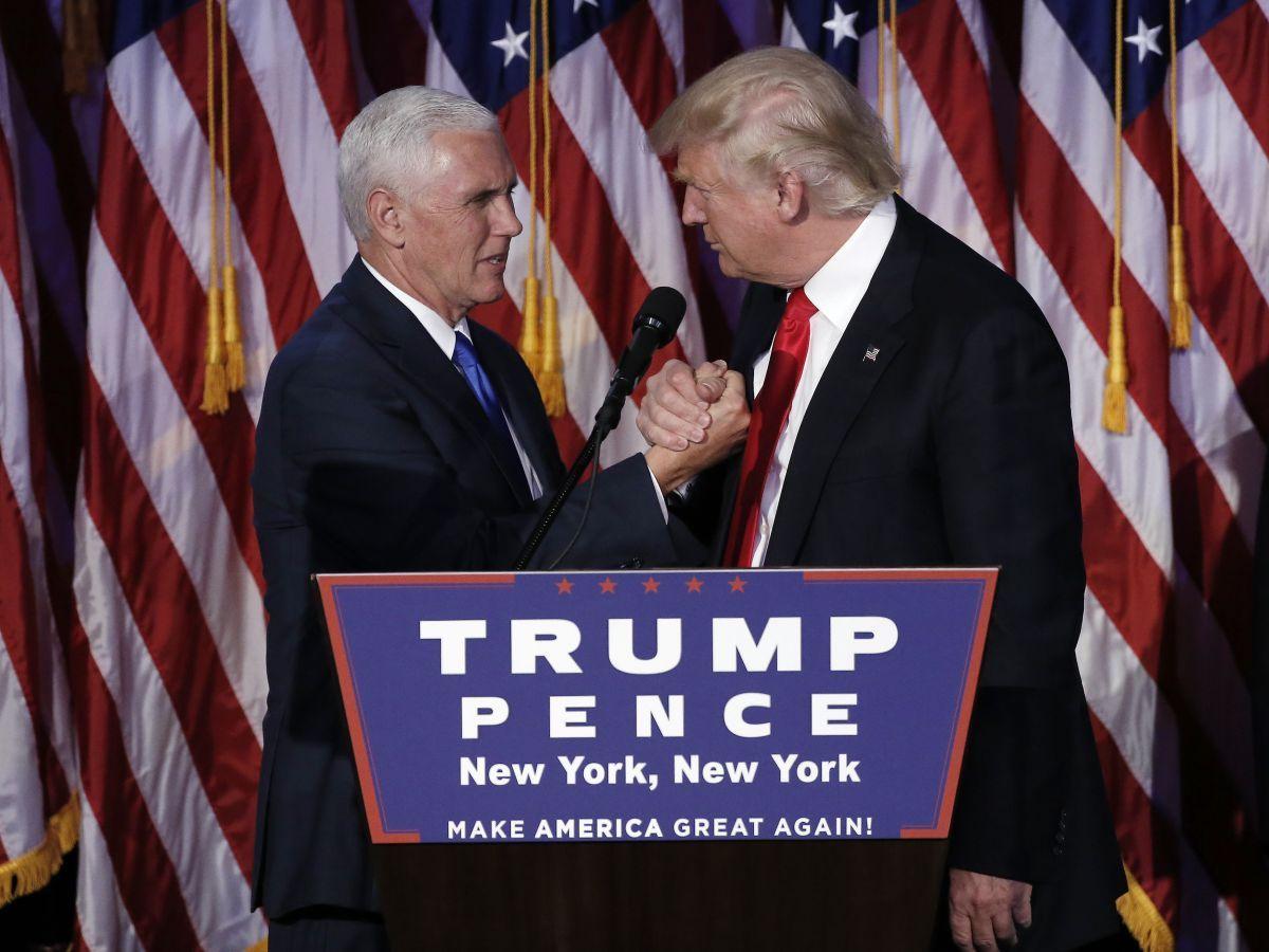 Дональд Трамп назначил нового вице-президента Пенса главой временной администрации