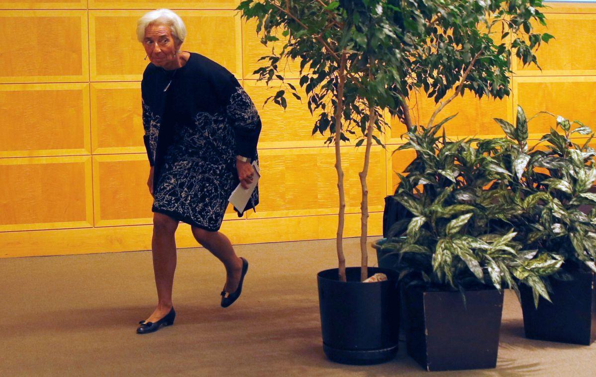 Встолице франции проходит суд над главой МВФ Кристин Лагард