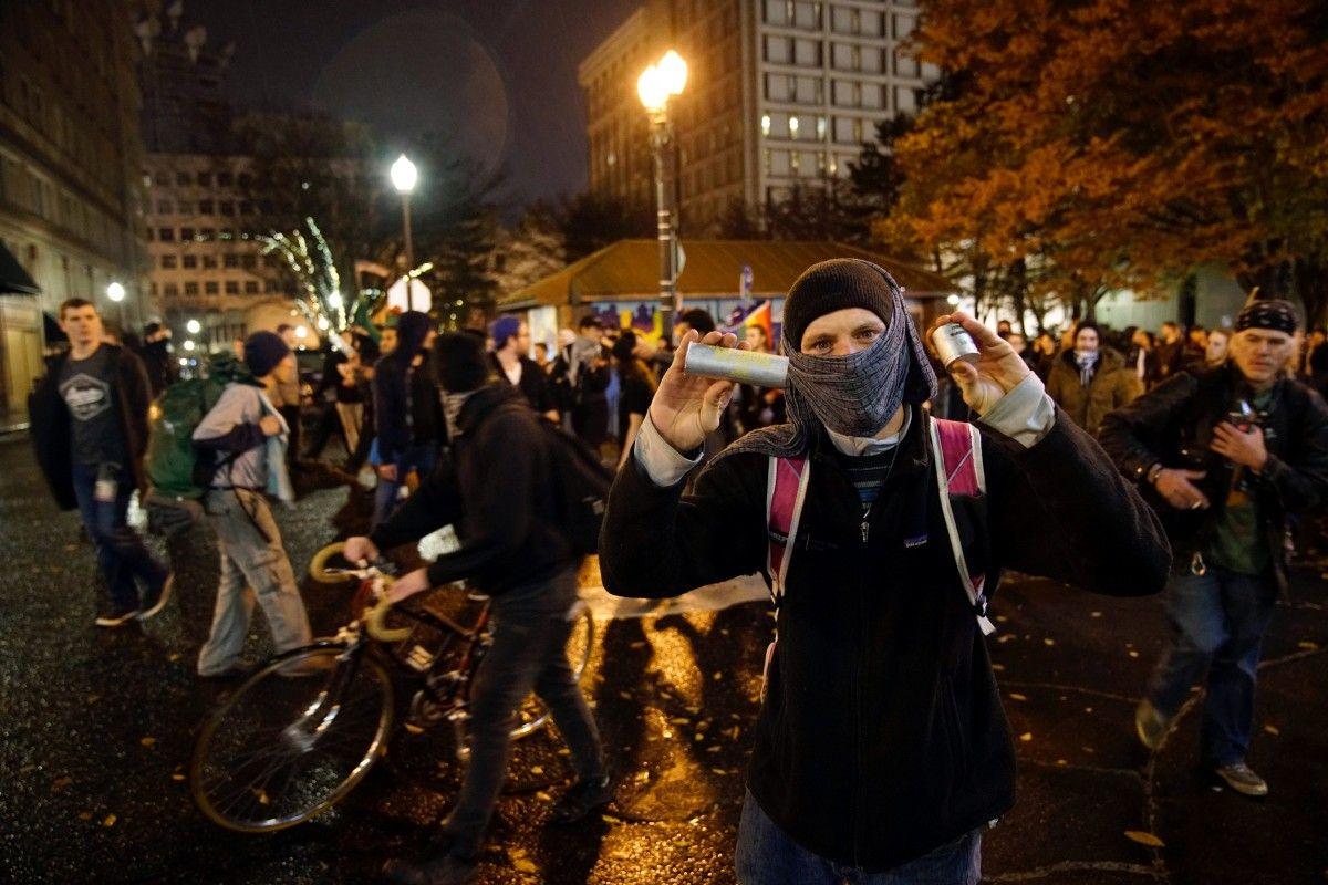 Трамп похвалил протестующих против него демонстрантов занеравнодушие