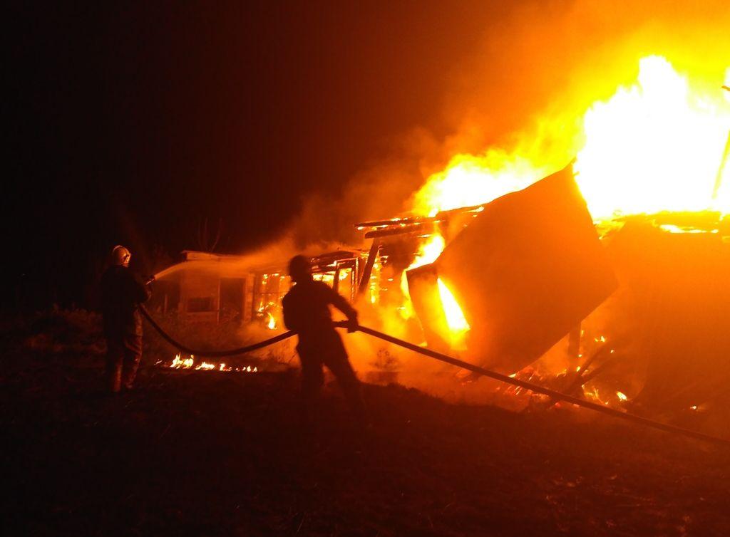 В результате пожара погибли трое мужчин / dsns.gov.ua