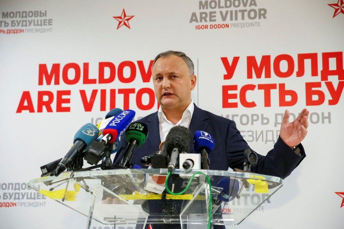 Игорь Додон / REUTERS