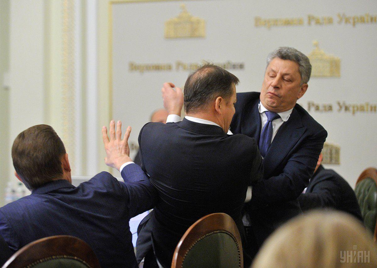 Бойко напав на Ляшка / Фото УНІАН