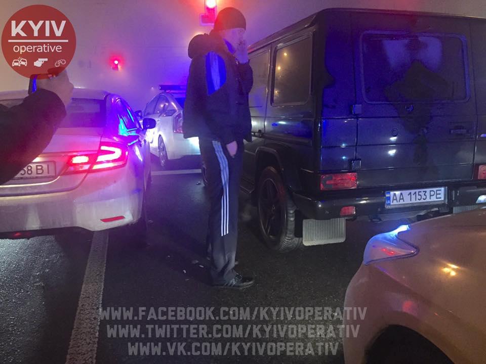 В результате ДТП никто не пострадал / facebook.com/KyivOperativ