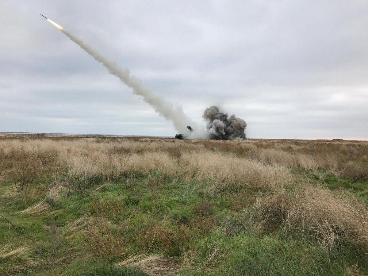 Украина испытала ракету / facebook.com/yuri.biriukov