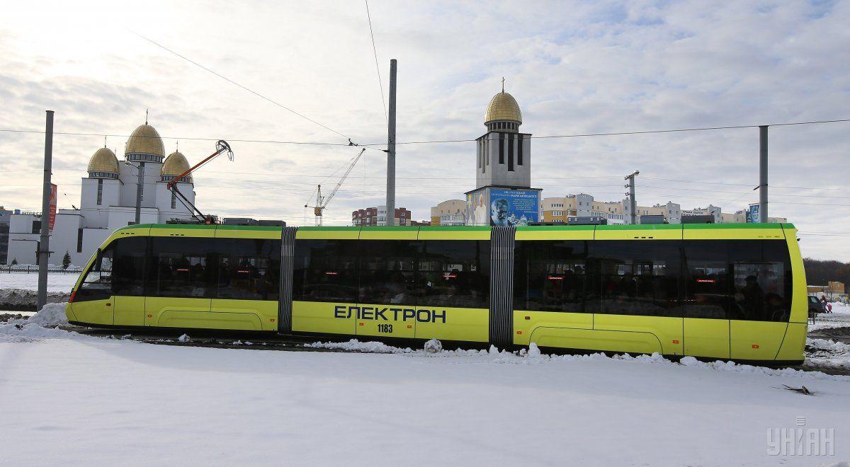 ВоЛьвове запустили новый трамвайный маршрут