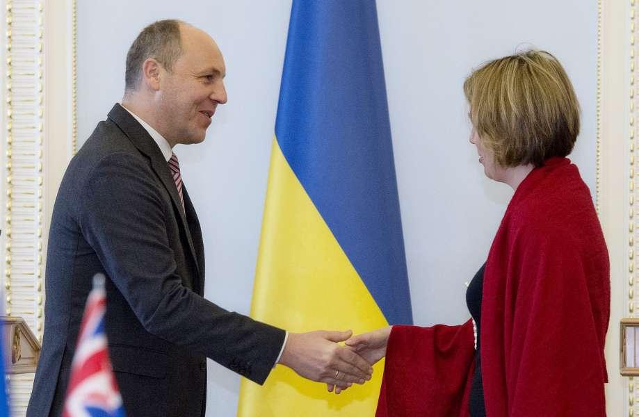 Британський посол також наголосила на важливості розширення співпраці між парламентами країн / rada.gov.ua